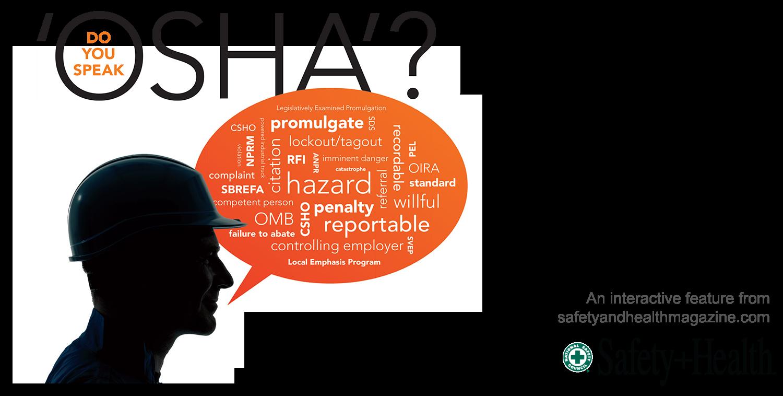 Do you speak 'OSHA'? | 2015-04-26 | Safety+Health Magazine