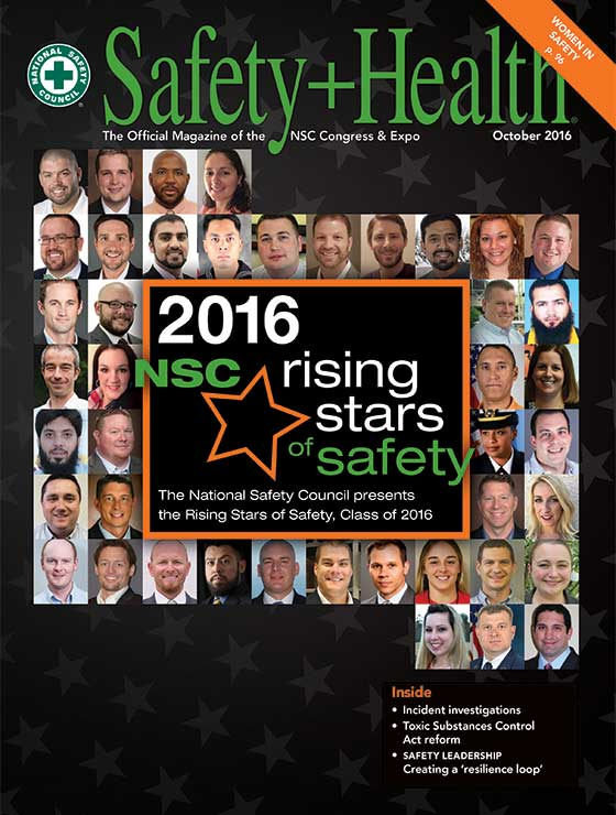 Safety+Health -- October 2016