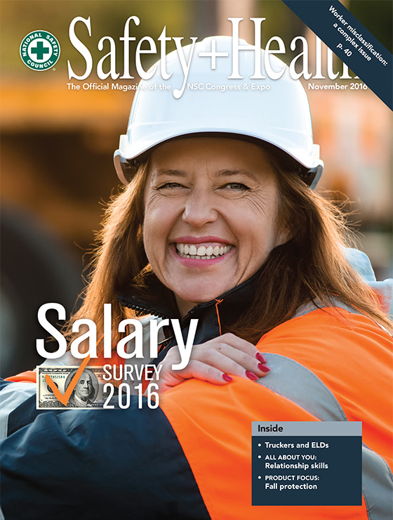 Safety+Health -- November 2016