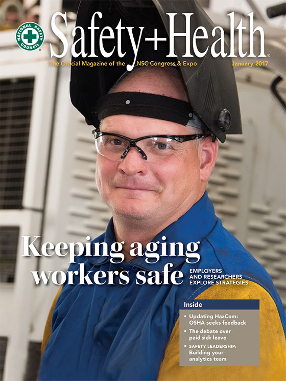 Safety+ Health -- January 2017