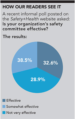 7 tips for an effective workplace safety committee | March 2017