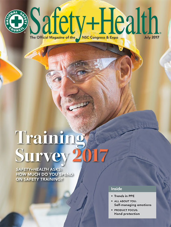 July 2017 -- Safety+Health