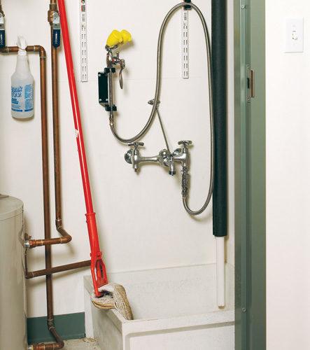 Eyewash safety in janitor closets | 2017-10-29 | Safety+