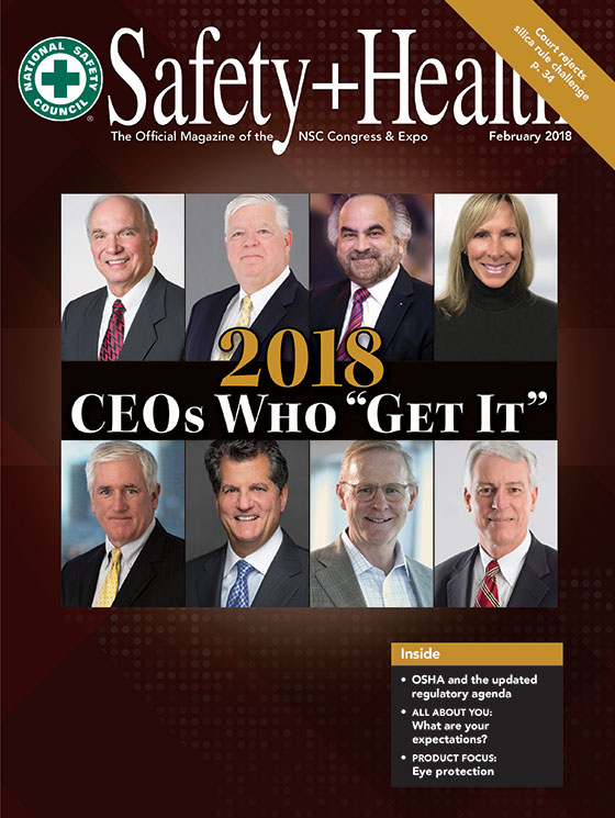 Safety+Health -- February 2018