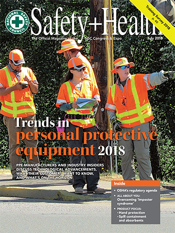 Safety+Health -- July 2018