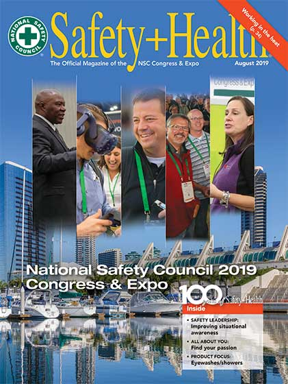 August 2019 Safety+Health
