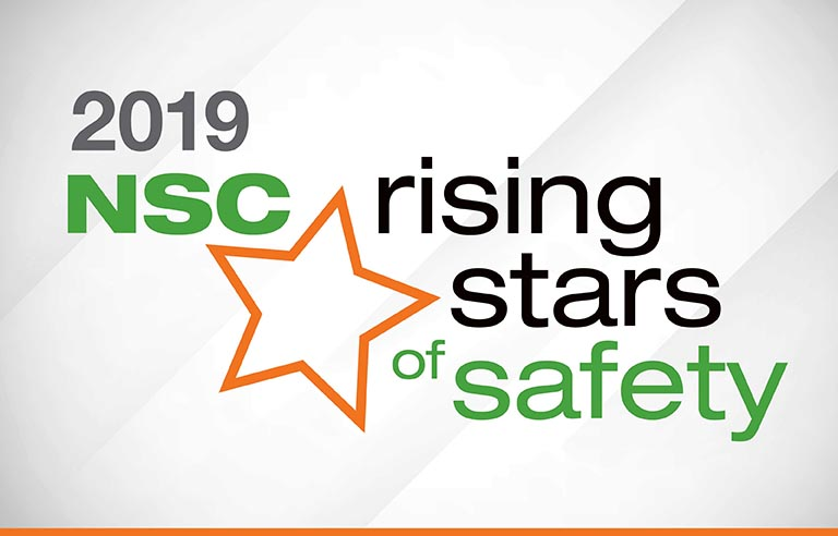 National Safety Council's 2019 Rising Stars of Safety