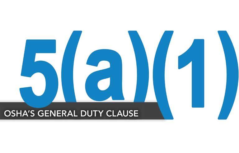 OSHA's General Duty Clause
