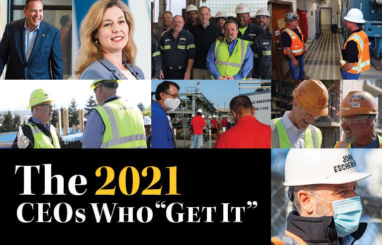 """2021 CEOs Who """"Get It"""""""