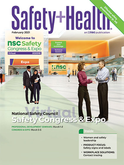 February 2021 Safety+Health