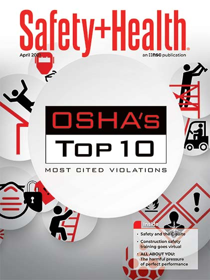 April 2021 -- Safety+Health