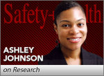 Ashley Johnson on Research