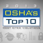 2013 OSHA's Top 10