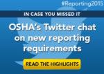 OSHA Twitter chat highlights