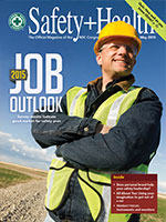 May issue, Safety+Health magazine