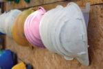 Women's safety -- pink helmets 500
