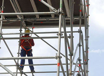 Scaffolding Temporary Structure Permanent Safety