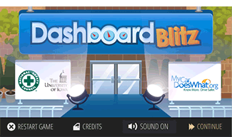 Dashboard-blitz-game