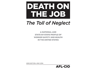 death on the job-AFL-CIO