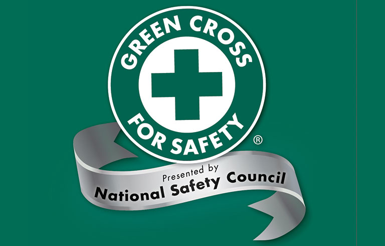 who is deserving of a green cross for safety award 2017 10 17