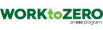 work to zero logo