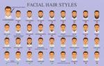 facial hairstyles