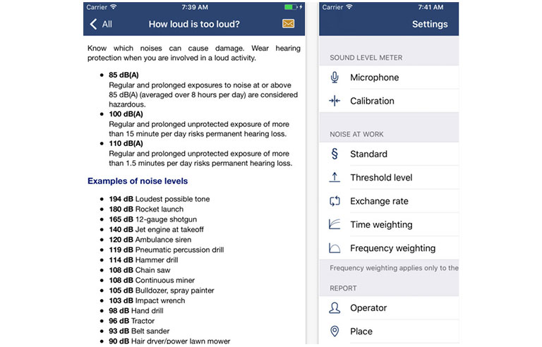 Niosh Creates App For Measuring Workplace Noise Exposure