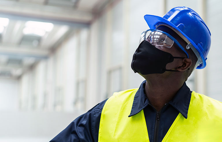 Worker ppe