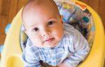 baby in baby walker