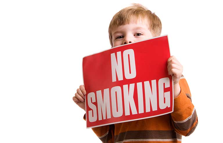 AHA to parents: Create a smoke-free environment for children | 2016