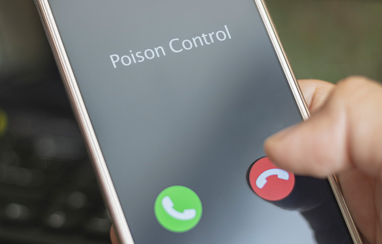 Poison Control phone call