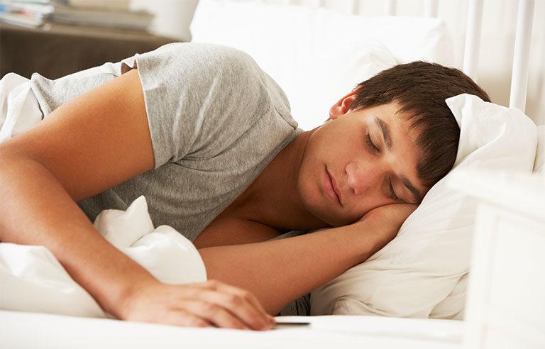 teenage asleep