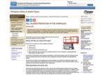 CDC NIOSH webpage