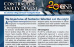Contractor Safety Digest