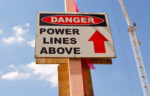 danger power lines above