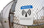 Radio Frequency High Level Warning Sign