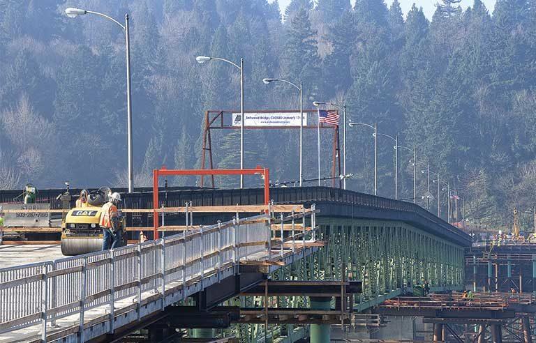 steam roller - bridge