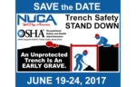 Trench Safety Stand Down