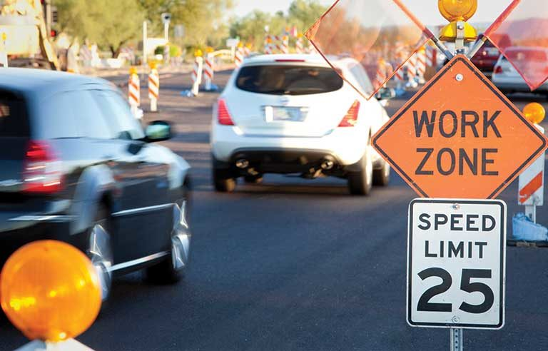 Crash risk soars among distracted drivers in highway work