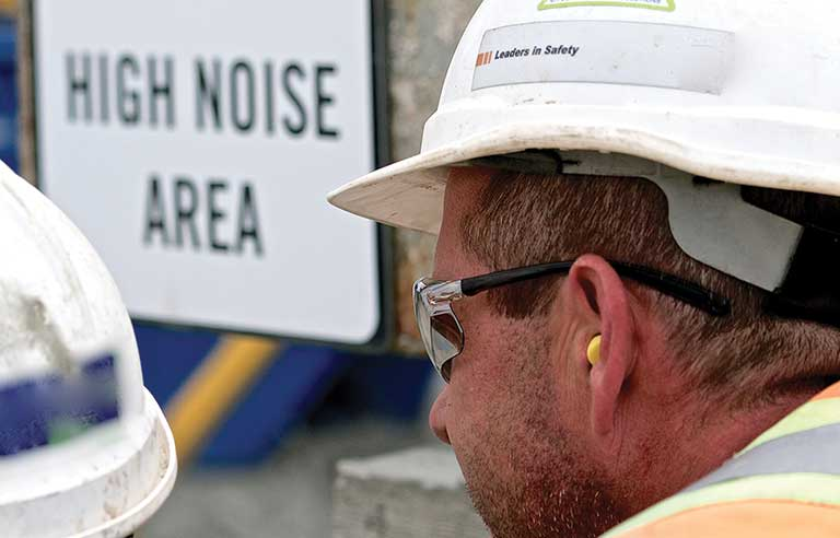 Worker-hearing-protection
