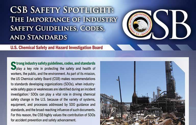 CSB Safety Spotlight