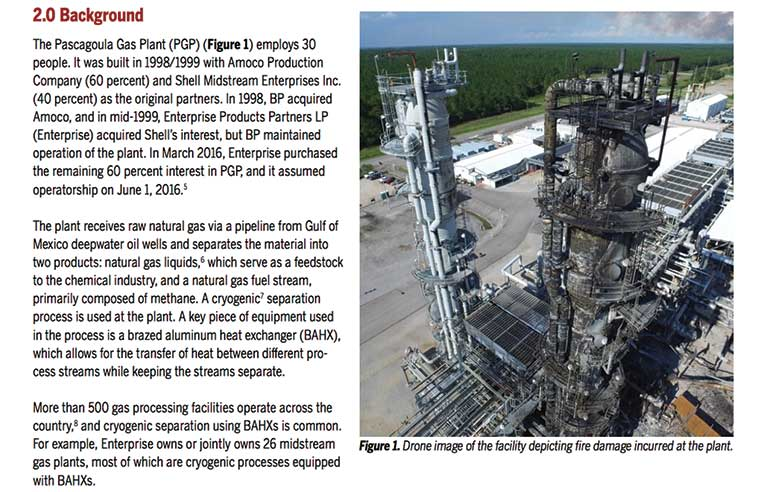 csb calls for inspections of heat exchangers in report on mississippi gas plant explosion 2019 02 20 safety health magazine mississippi gas plant explosion