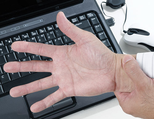 Carpal tunnel 500, used for Oct2011 Workplace Myth feature
