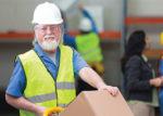 senior warehouse employee