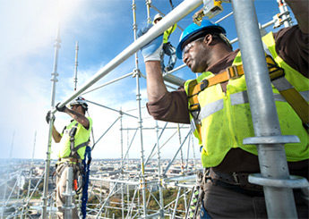 Fall prevention, scaffolding