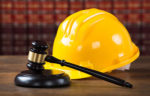 yellow hardhat and gavel