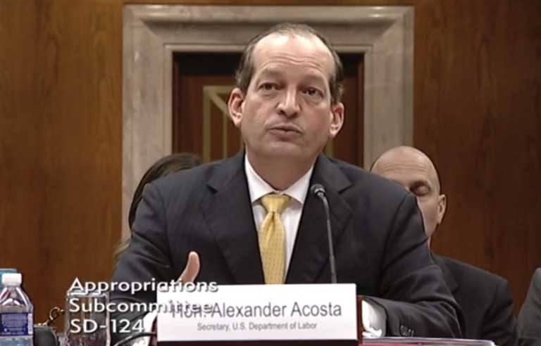 Acosta: DOL plans internal audit of all guidance documents