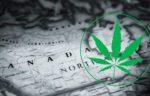 Canada map - marijuana