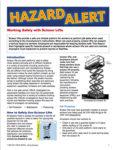 Hazard alert_Scissor Lifts