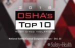OSHA'S TOP10 2018